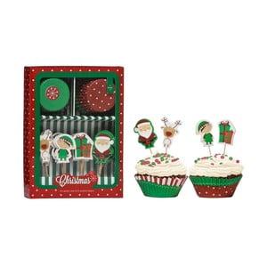 Zdobící set na cupcaky Premier Housewares Christmas Cupcake