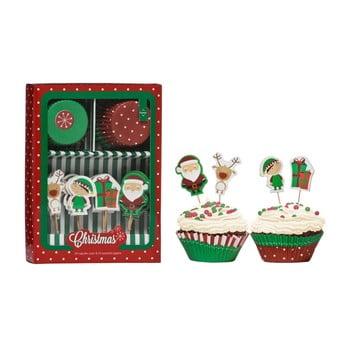 Set accesorii prăjituri Premier Housewares Christmas Cupcake de la Premier Housewares