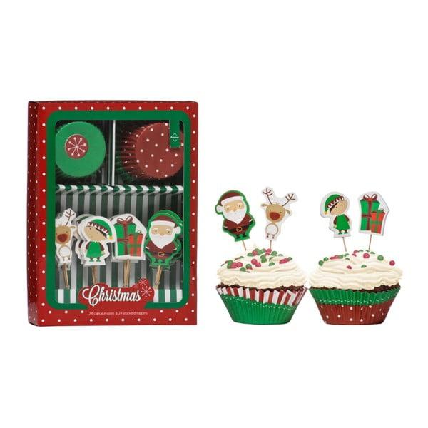 Set accesorii prăjituri Premier Housewares Christmas Cupcake