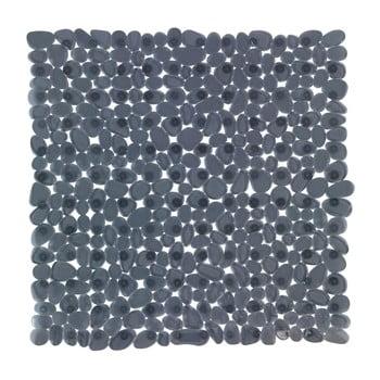 Covor baie anti-alunecare Wenko Drop, 54x54cm, gri antracit imagine