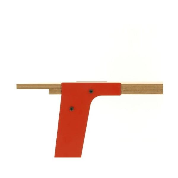 Oranžový jídelní/pracovní stůl rform Switch, deska 180x78 cm