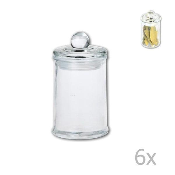 Szklany pojemnik z wieczkiem Orion, 140 ml