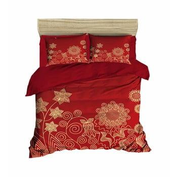 Lenjerie de pat cu cearșaf Regina, 160x220cm de la Pearl Home