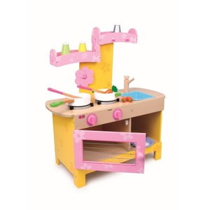 Dětská dřevěná kuchyňka na hraní Legler Nena