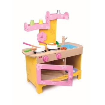 Bucătărie din lemn pentru copii Legler Nena de la Legler