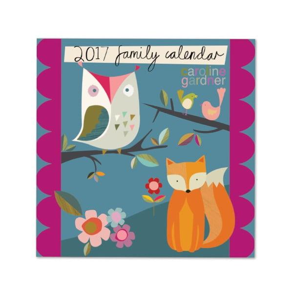 Rodinný kalendář Portico Designs Muchly Lovely