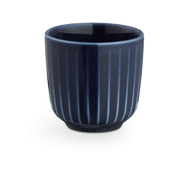 Hammershoi sötétkék porcelán kávéscsésze, 1 dl - Kähler Design