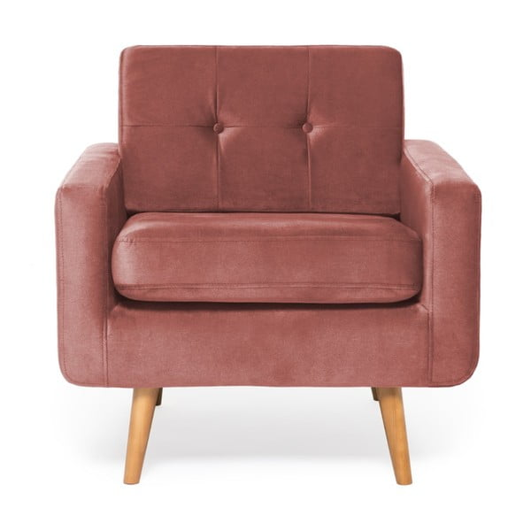 Fotoliu Vivonita Ina Trend, roz