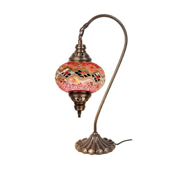 Skleněná lampa Fishing VII, 17 cm