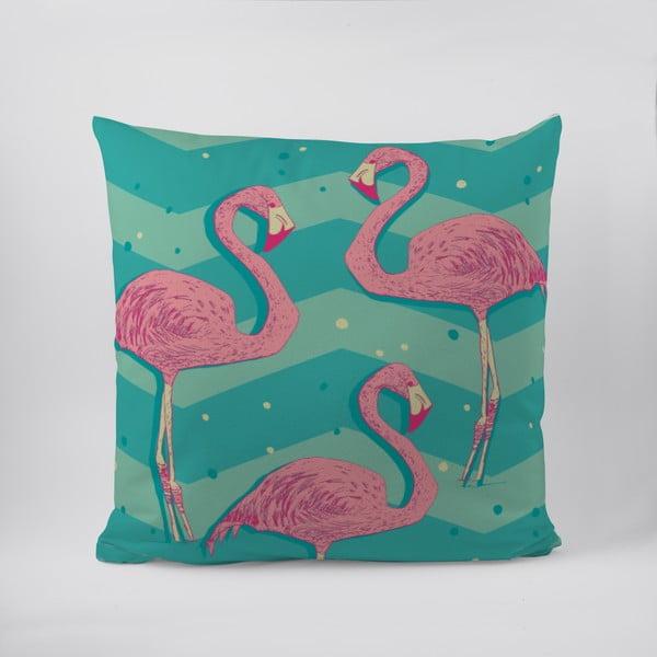 Polštář Flamingos