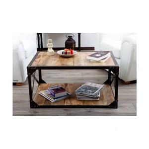 Konferenční stolek z masivního mangového dřeva Massive Home Jenny, 90 x 45 cm