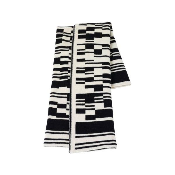 Vlněná deka I 130x160 cm, černá