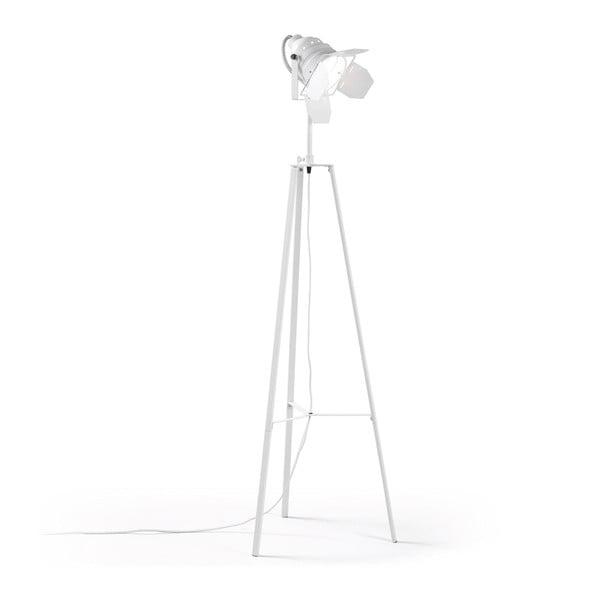 Bílá stojací lampa La Forma Goth