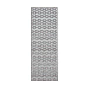 Šedo-modrý běhoun Mint Rugs Shine, 80 x 250 cm