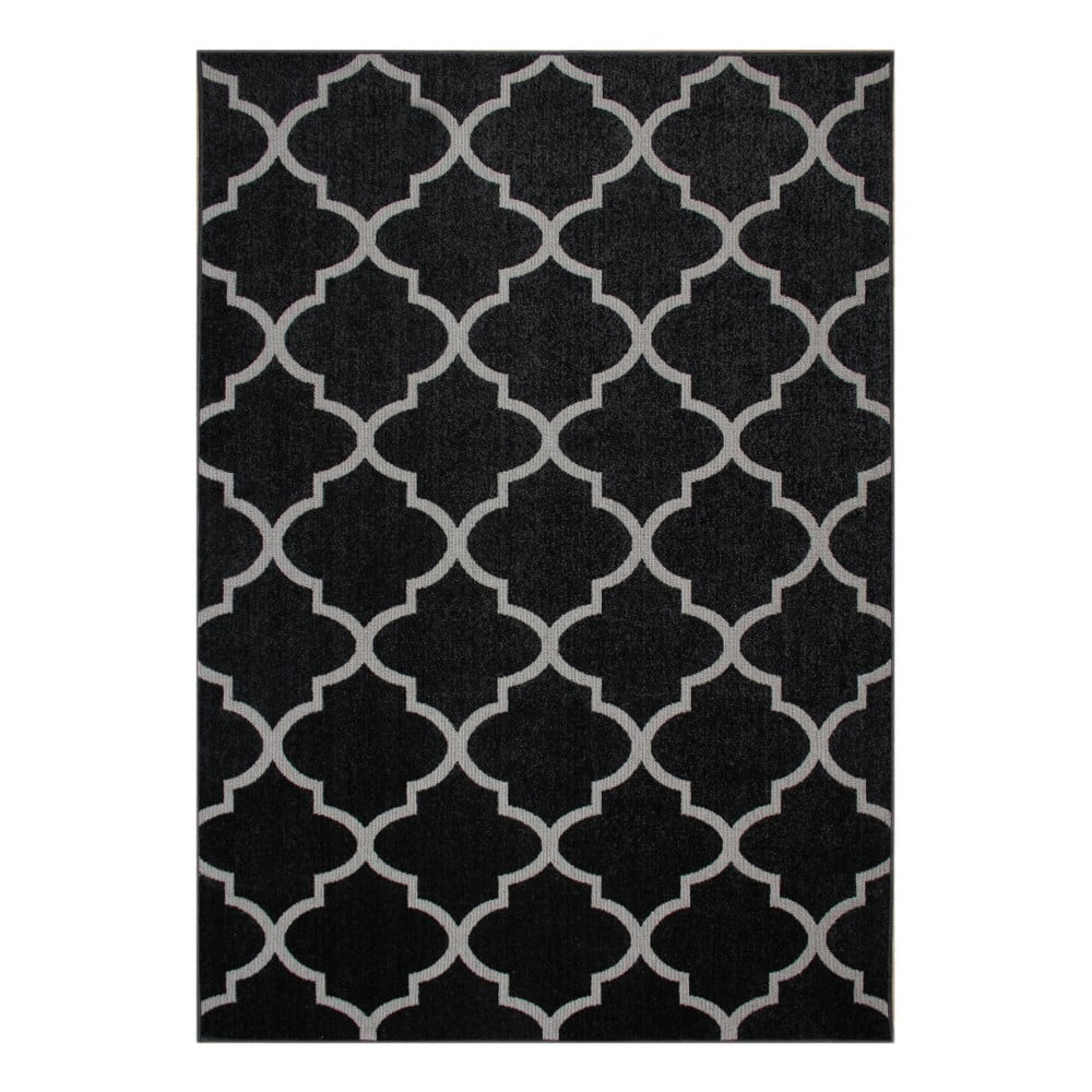 Černý koberec Eco Rugs Ali, 120x180cm