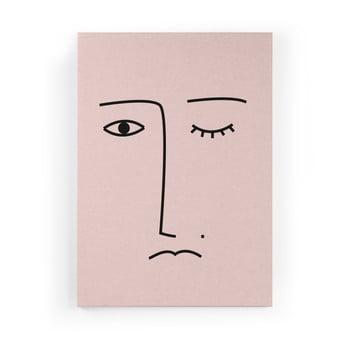 Tablou Velvet Atelier Face, 50 x 70 cm