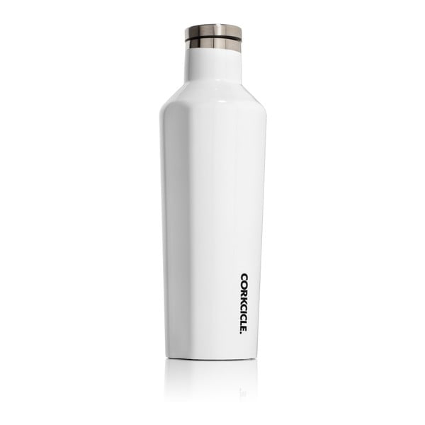 Bílá termolahev Corkcicle Canteen, 470 ml