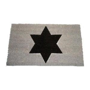 Rohožka Black Star 40x70 cm