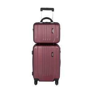Kufr s příručním zavazadlem Jean Louis Scherrer Red
