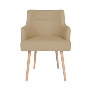 Béžová jídelní židle Cosmopolitan Design Venice