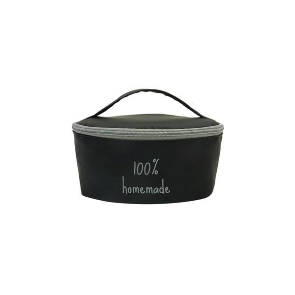 Pouzdro na svačinovou krabičku Bento G Lunch Black/Grey