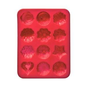 Červená pečicí silikonová forma Premier Housewares