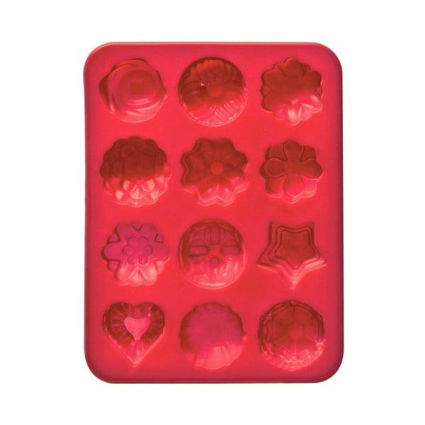 Formă silicon pentru brioșe Premier Housewares, roșu