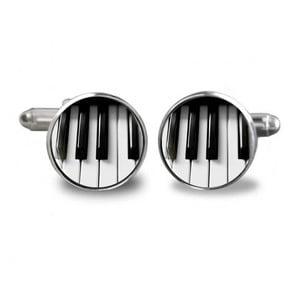 Sada 2 manžetových knoflíčků Butoni de Camasa Piano