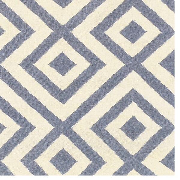 Vlněný koberec Luisa Grey, 240x155 cm