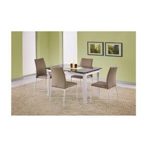 Rozkládací jídelní stůl s béžovou deskou Halmar Alston, délka120-180cm