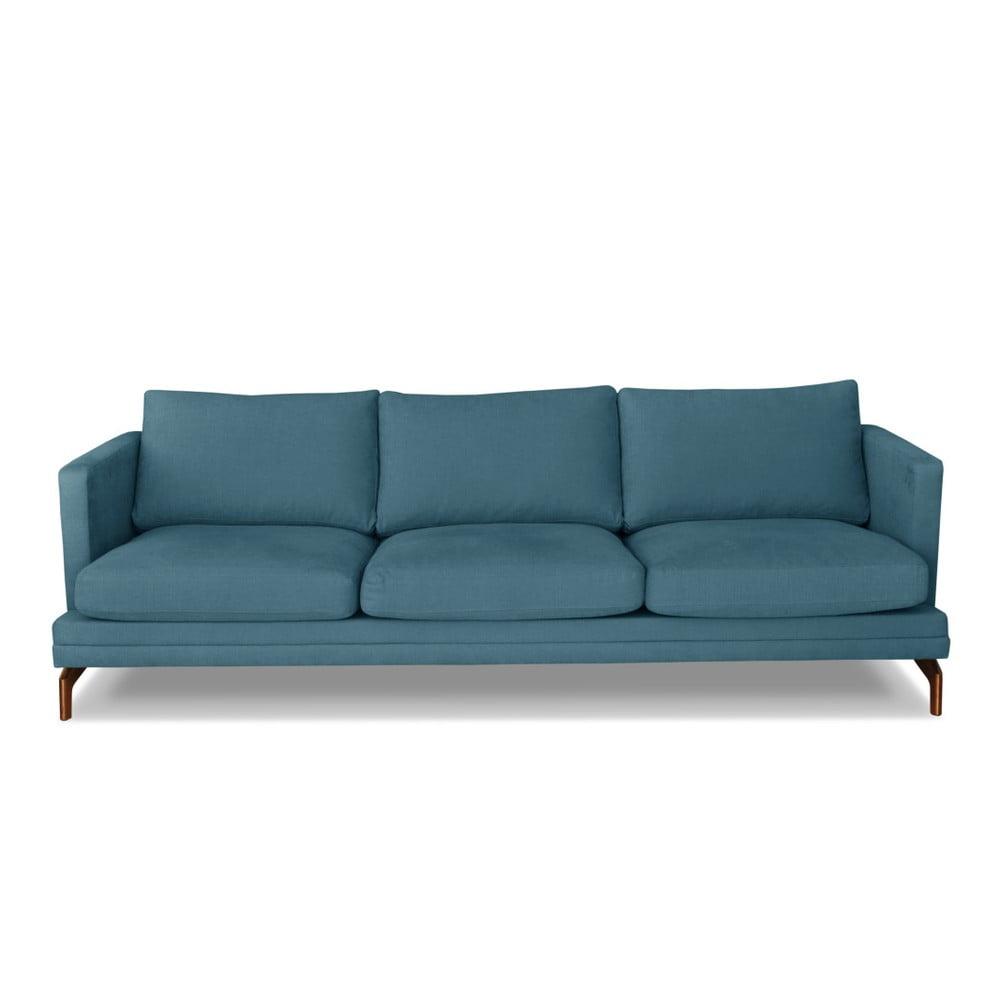 Tyrkysová trojmístná pohovka Windsor & Co. Sofas Jupiter