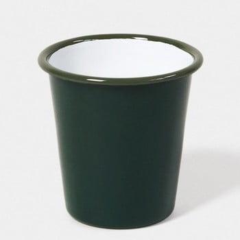 Pahar smălțuit Falcon Enamelware, 250 ml, verde închis de la Falcon Enamelware