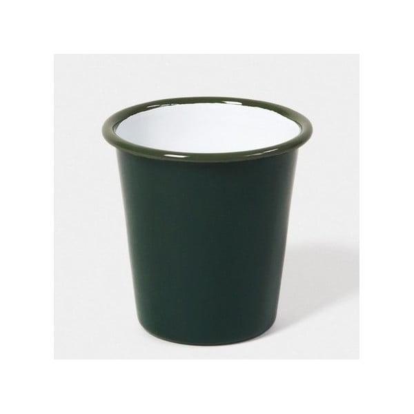 Sötétzöld zománcozott bögre, 250 ml - Falcon Enamelware