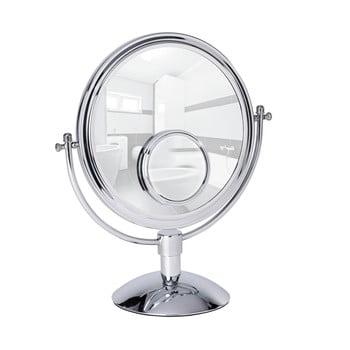 Oglindă cosmetică cromată Wenko Grando, înălțime 37 cm de la Wenko