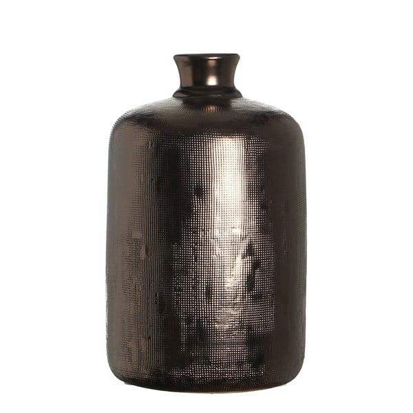 Keramická váza Ivan Copper, 30 cm