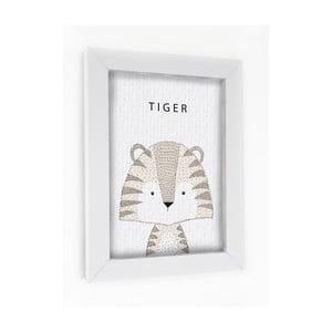 Obraz v rámu Tiger