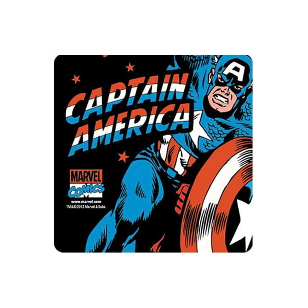 Set 6 tácků Captain America