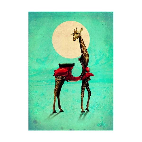 Autorský plakát Giraffe