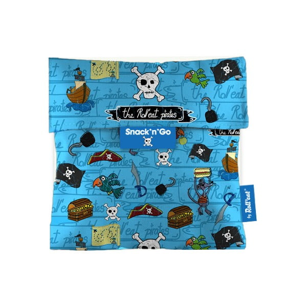 Kapsa na svačinu Snack'n'Go Pirates, modrá