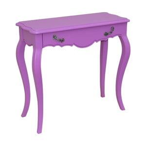 Konzolový stolek Spruce, fialový