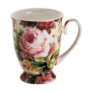 Šálek z kostního porcelánu Maxwell & Williams Royal Old England Wild Rose, 300 ml