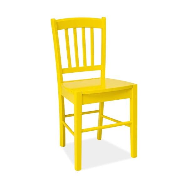 Jídelní židle CD-57, žlutá