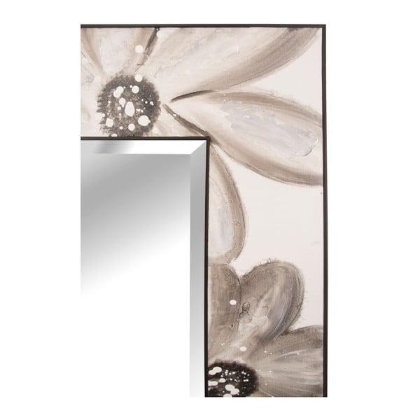Nástěnné zrcadlo s dekorativním rámem Mauro Ferretti Muro Daisy, 150x60cm