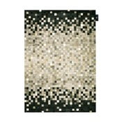 Kožený koberec Rain Grey, 140x200 cm