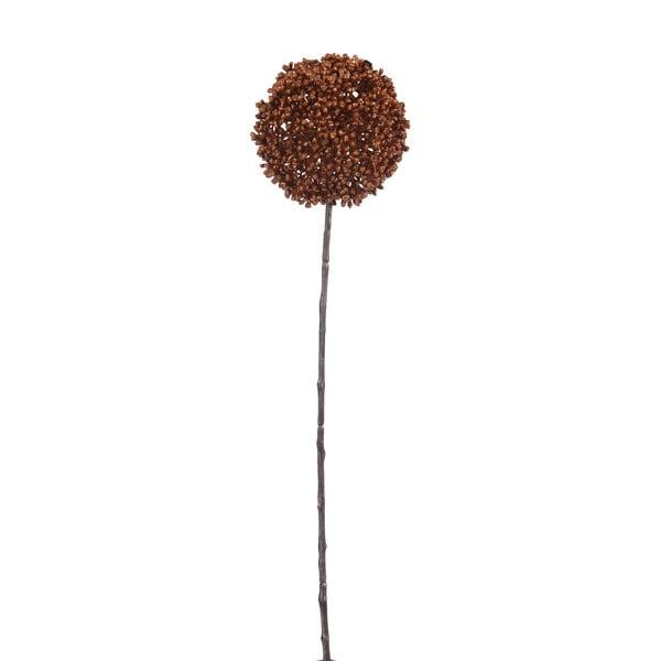 Dekorace J-Line Onion Bulb Copper, 45 cm