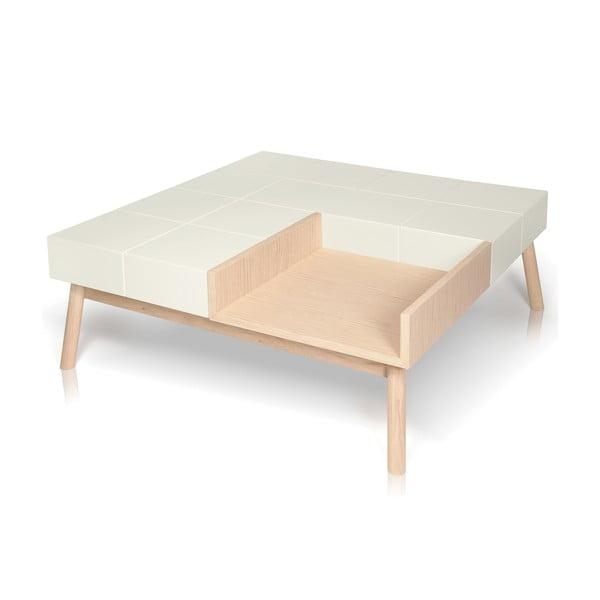 Konferenční stolek Mos-i-ko Oak AL2, 125x125cm
