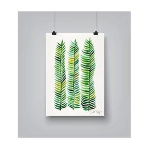 Plakát Americanflat Seaweed, 30x42cm