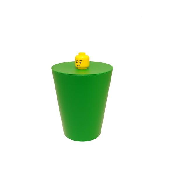 Lego koš, zelený