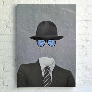 Tablou Really Nice Things Invisible Man, 70 x 50 cm