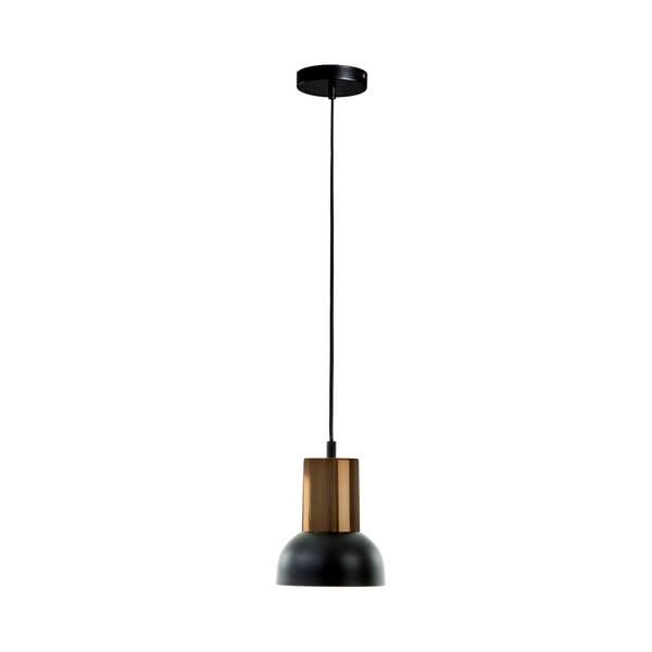 Černé závěsné svítidlo La Forma Amina, výška 15 cm